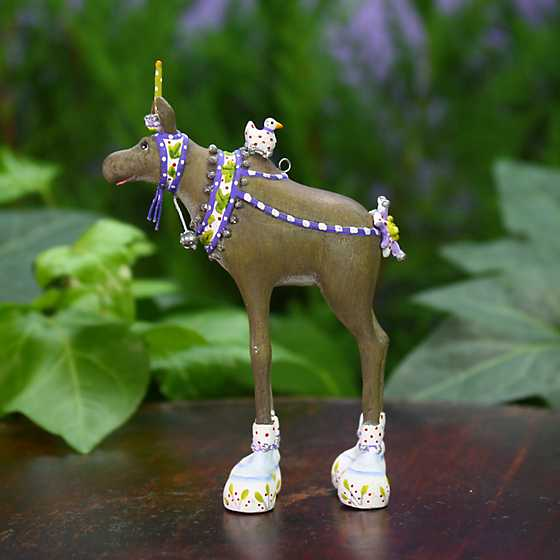 Patience Brewster Maude Moose Mini Ornament image one