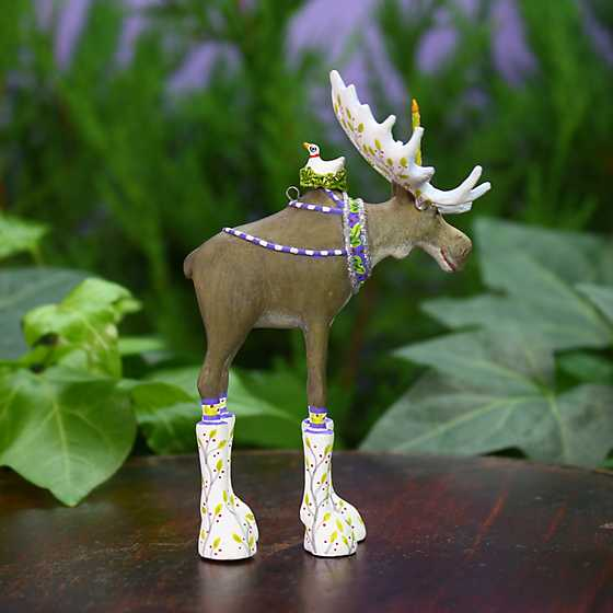 Patience Brewster Milton Moose Mini Ornament image two