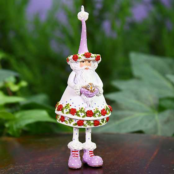 Patience Brewster Woodland Santa Mini Ornament image two