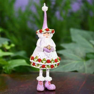 Patience Brewster Woodland Santa Mini Ornament