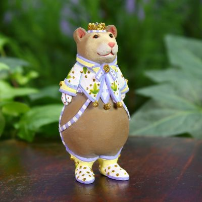 Patience Brewster Victoria Bear Mini Ornament
