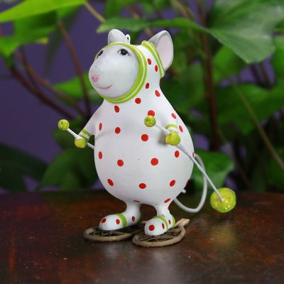 Patience Brewster Woodland Pip Snowshoe Mouse Ornament