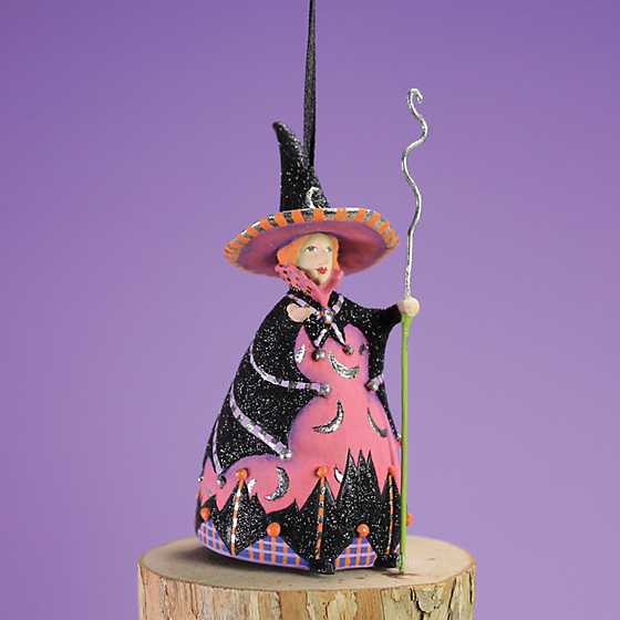 Patience Brewster Bat Moon Witch Mini Ornament image two