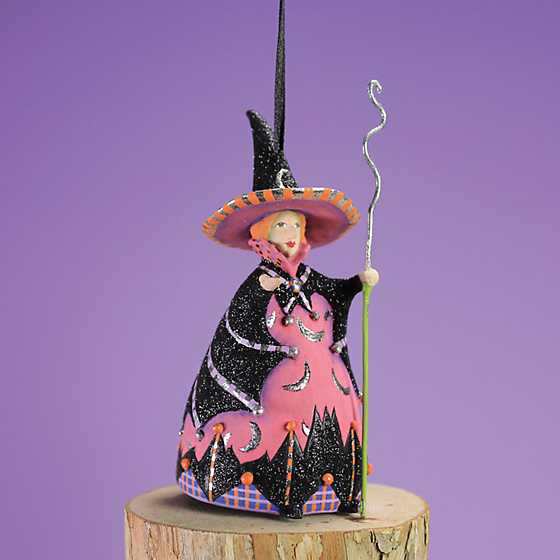 Patience Brewster Bat Moon Witch Mini Ornament image one