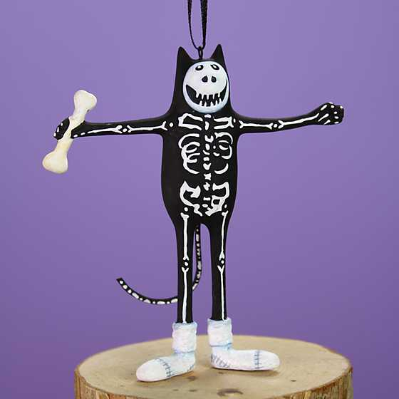 Patience Brewster Boney Cat Mini Ornament image one