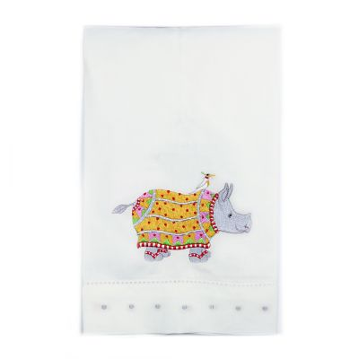 Patience Brewster Ralph Rhino Tea Towel