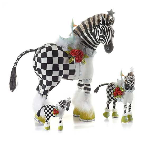 Patience Brewster Jambo Zelda Zebra Ornament image five