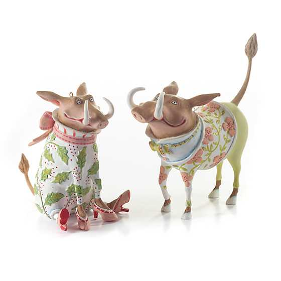 Patience Brewster Jambo Winifred Warthog Ornament image four