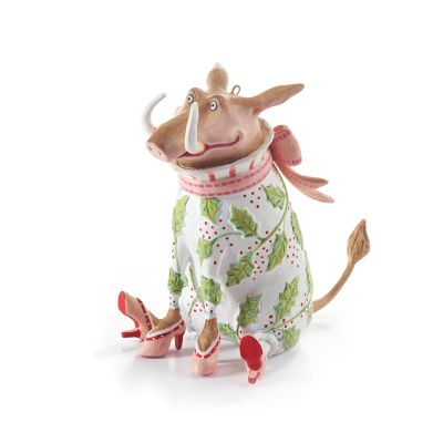 Patience Brewster Jambo Winifred Warthog Ornament