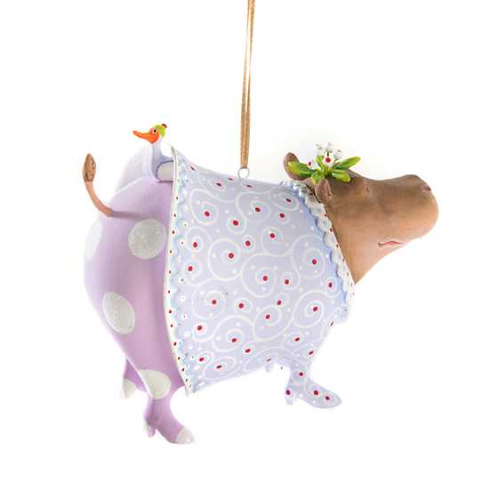 Patience Brewster Jambo Helen Hippo Ornament image three