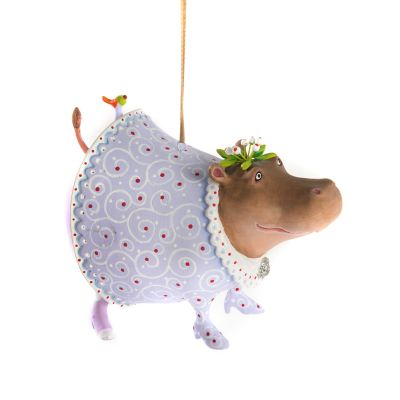 Patience Brewster Jambo Helen Hippo Ornament