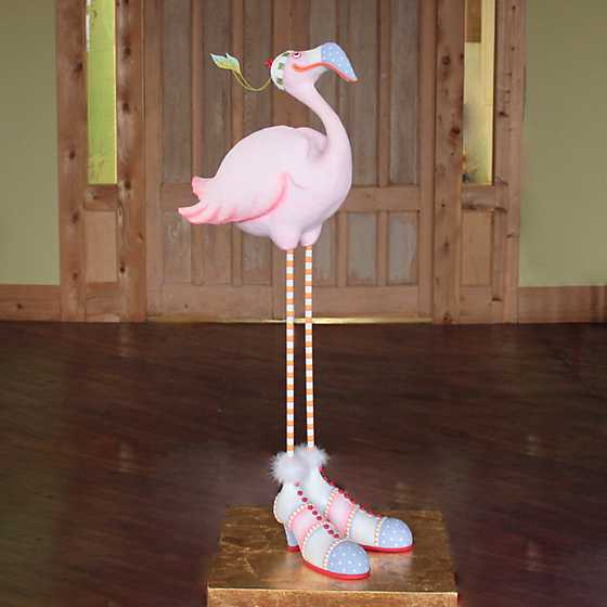 Patience Brewster Jambo Sheila Flamingo Display Figure