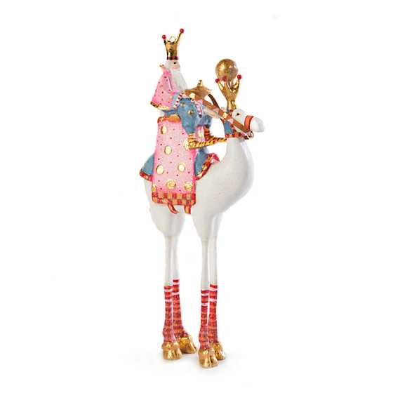 Patience Brewster Nativity Balthazar on Camel Ornament image two