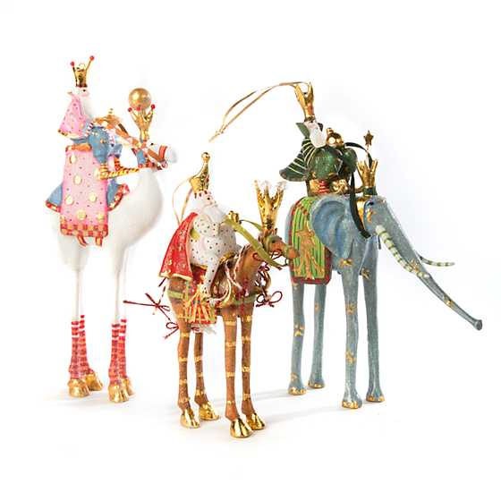 Patience Brewster Nativity Balthazar on Camel Ornament image four