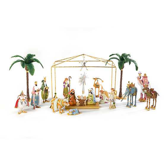 Patience Brewster Nativity Balthazar on Camel Ornament image five