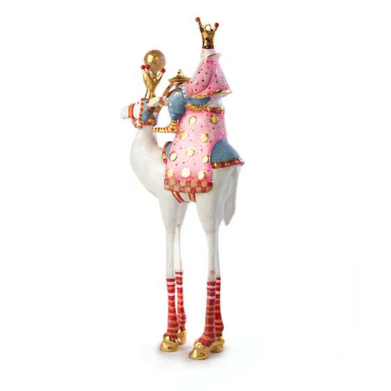 Patience Brewster Nativity Balthazar on Camel Ornament image three