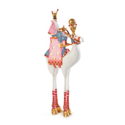 Patience Brewster Nativity Balthazar on Camel Ornament