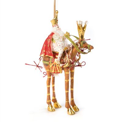 Patience Brewster Nativity Melchior on Horse Ornament