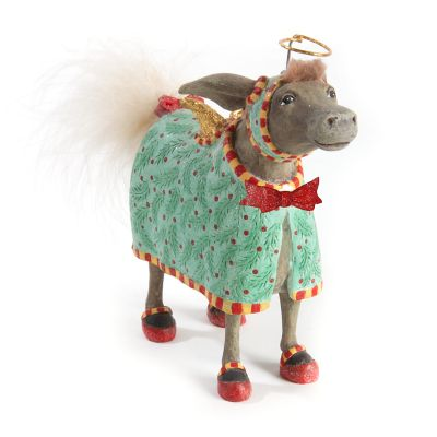 Patience Brewster Nativity David Donkey Ornament
