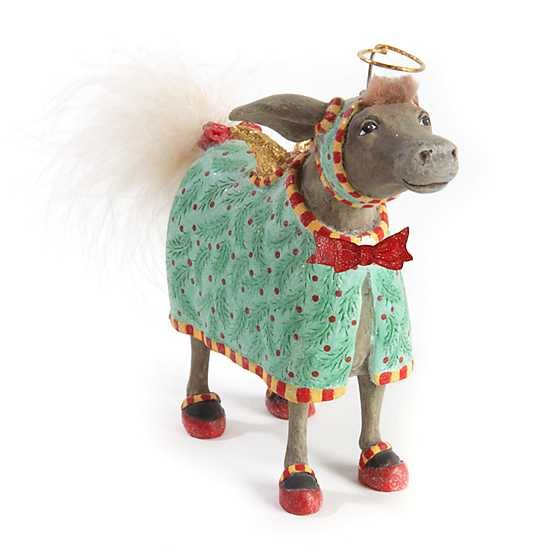 Patience Brewster Nativity David Donkey Ornament image one
