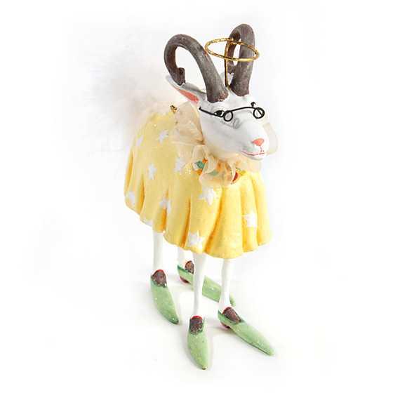 Goat Christmas Ornament.Mackenzie Childs Patience Brewster Nativity Nanny Goat