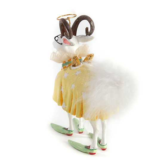 Patience Brewster Nativity Nanny Goat Ornament image three