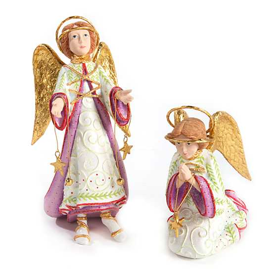 Patience Brewster Nativity Praying Angel Figure image four