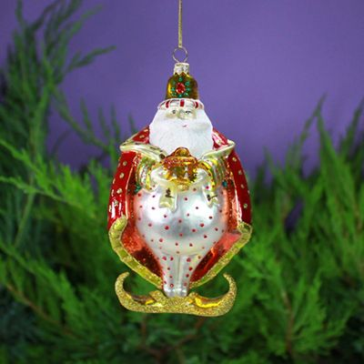 Patience Brewster Melchior Glass Ornament