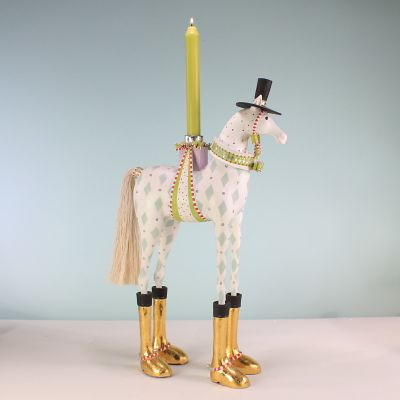 Patience Brewster Arthur Horse Candle Holder
