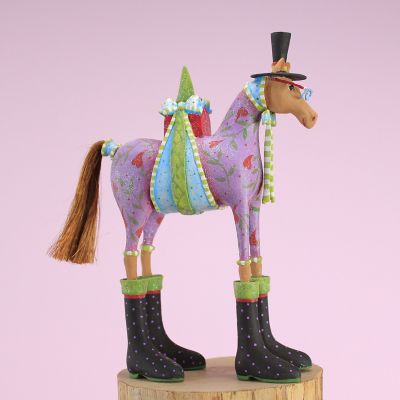 Patience Brewster Marcel Horse Ornament