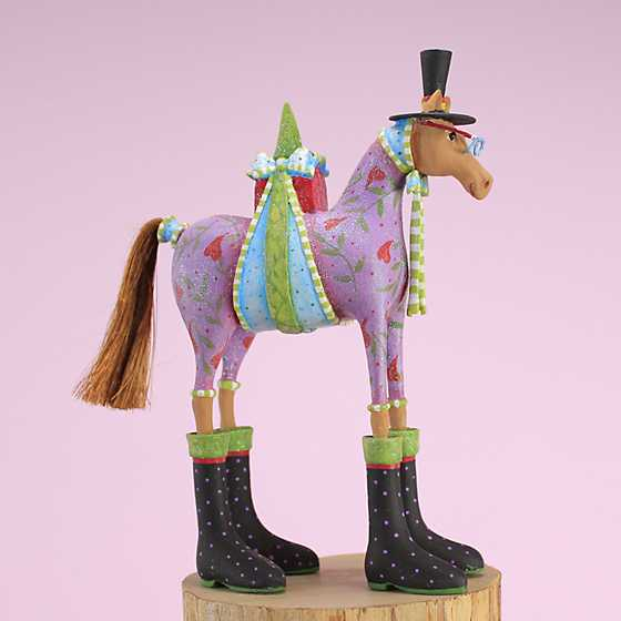 Patience Brewster Marcel Horse Ornament image one
