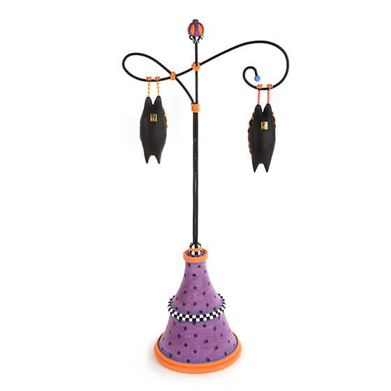 Patience Brewster Bart & Beatrice Bat Ornaments with Stand image three