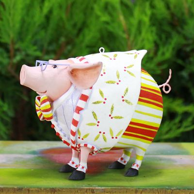 Patience Brewster Norbert Dressed Up Pig Ornament