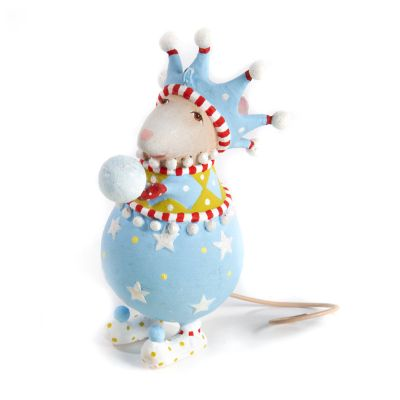 Patience Brewster Dash Away John Snowball Mouse Ornament