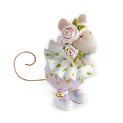 Patience Brewster Dash Away Sophie Snowball Mouse Ornament