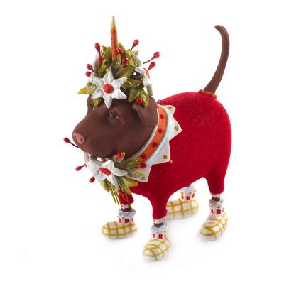 Patience Brewster Lola Chocolate Lab Ornament
