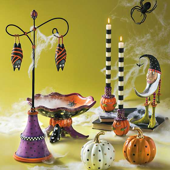 Patience Brewster Peter Pumpkin Taper Candle Holder image two