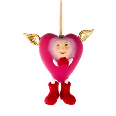 Patience Brewster Full Heart Ornament