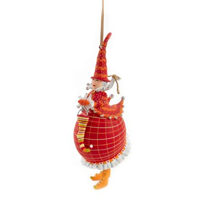 Patience Brewster Dash Away Red Mrs. Santa Ornament