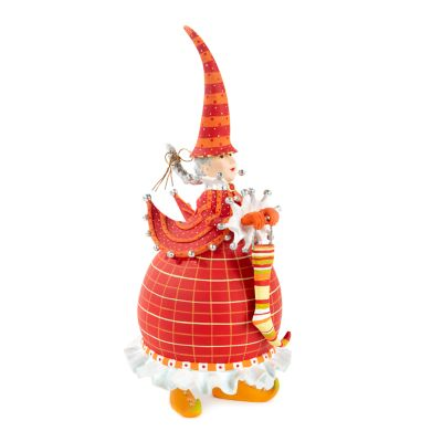 Patience Brewster Dash Away Red Mrs. Santa Figure