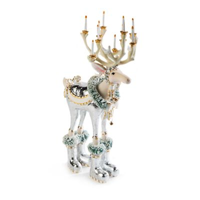 Patience Brewster Moonbeam Dasher Reindeer Figure