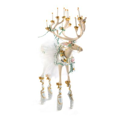 Patience Brewster Moonbeam Dancer Reindeer Figure