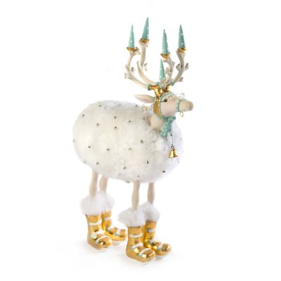 Patience Brewster Moonbeam Blitzen Reindeer Figure