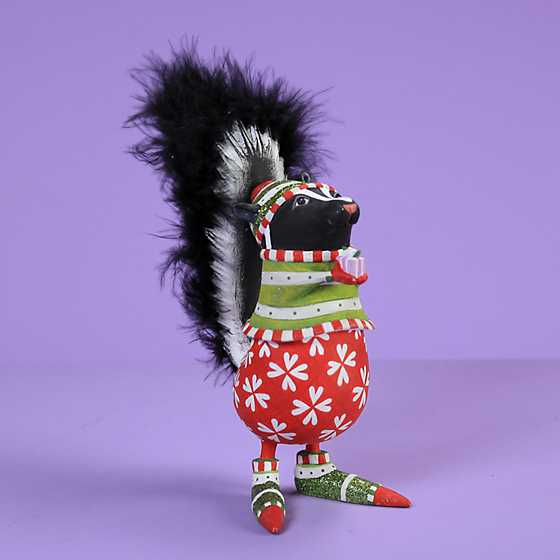 Patience Brewster Snuffy Skunk Ornament