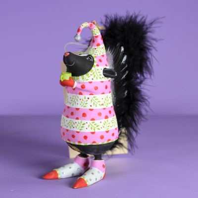 Patience Brewster Savannah Skunk Ornament