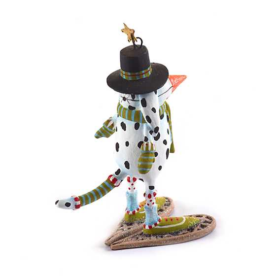 Patience Brewster Andrew Snow Dog Mini Ornament image three