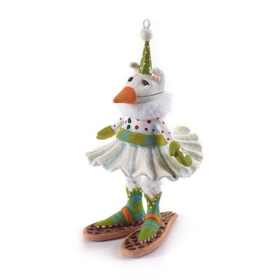 Patience Brewster Alaska Snow Dog Mini Ornament