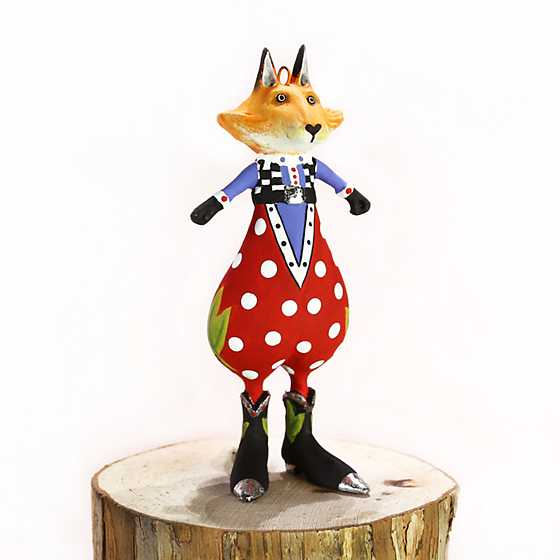 Patience Brewster Phineas Fox Mini Ornament image two