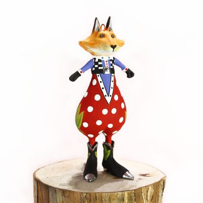Patience Brewster Phineas Fox Mini Ornament