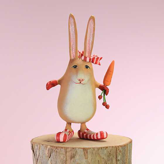 Patience Brewster Rebecca Rabbit Mini Ornament image one